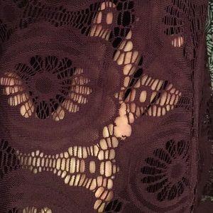 London Times Dresses - *RE-POSH* vivid purple lace dress SEE DESCRIPTION